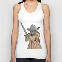 medieval Tank Tops featuring Yoda medieval  by  Steve Wade ( Swade)