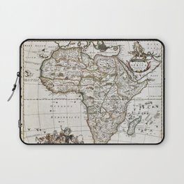 Vintage Africa map Laptop Sleeve