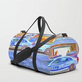 New York Police Department Pop Art Duffle Bag
