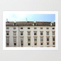 vienna Art Prints featuring Vienna  by Blake Hemm