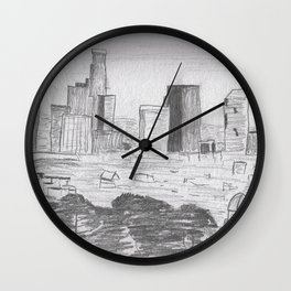 L.A. by way of Griffith Wall Clock
