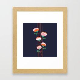 Benoít Flowers Framed Art Print