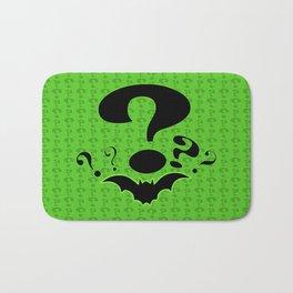 Riddler Green Bath Mat