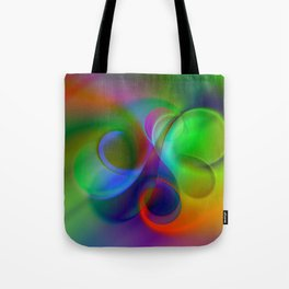 color whirl -31- Tote Bag