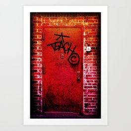 Teach NYC Art Print