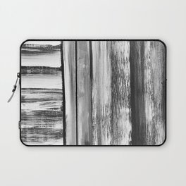 Wooden Shutters in New England Clam Chowder White Laptop Sleeve