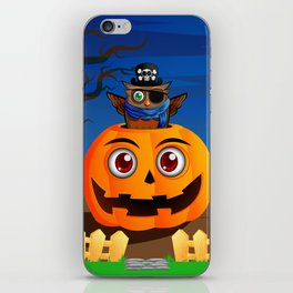 Halloween Owl iPhone Skin