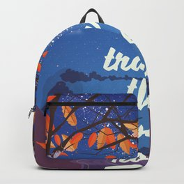 Travel the Open road Backpack