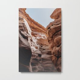 Red Canyon | Eilat | Travel Photography Metal Print
