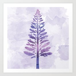 Feather Tree Art Print