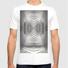 Paper Sculpture #9 Mens Fitted Tee White MEDIUM