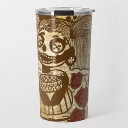 Vintage Vodoo Doll Travel Mug