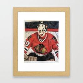 Goalie Framed Art Print