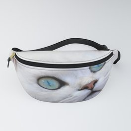 White kitten Fanny Pack