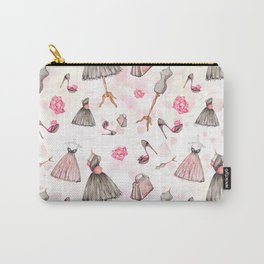 Black dress fashion #3 Carry-All Pouch