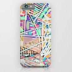 Geometric Abstract Lines Labirinth  iPhone 6s Slim Case