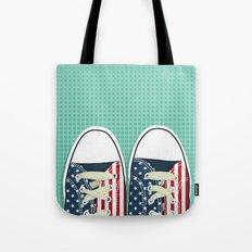 Casual American Tote Bag