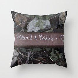 Estelle x2 + Héloïse =  Throw Pillow