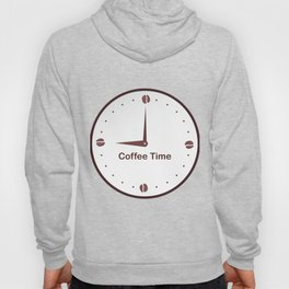 It is the Coffee time - I love Coffee Hoody