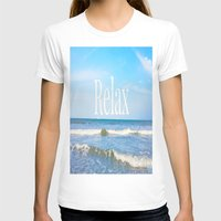 relax T-shirts featuring Relax by JuniqueStudio