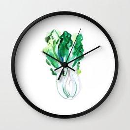 Bok Choi Wall Clock