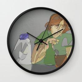 Making coffee Wall Clock