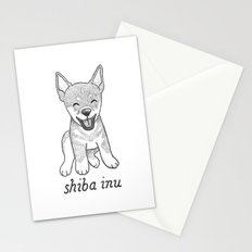 Dog Breeds: Shiba Inu Stationery Cards