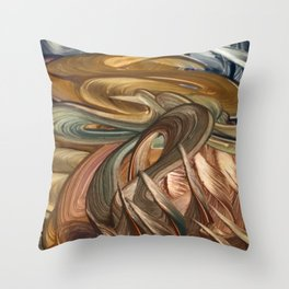 Elves Throw Pillow