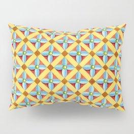 Heraldic Quatrefoil Lozenge Pillow Sham