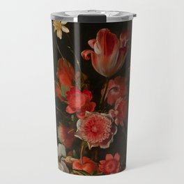 "Dirck de Bray ""Still Life with a Bouquet in the Making"" Travel Mug"
