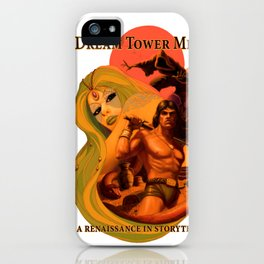Dream Tower Media Heroic Fantasy Adventure iPhone Case
