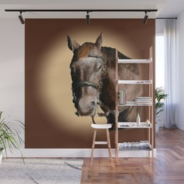 Season of the Horse - Pudding Wall Mural