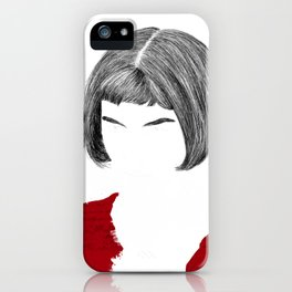 Amelie iPhone Case