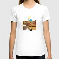 morocco T-shirts featuring Marrakech, Morocco  by Design4u Studio
