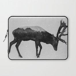 Red Deer (B&W) Laptop Sleeve