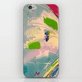 Dragonfly rainbow iPhone Skin
