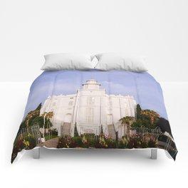 Saint George Utah LDS Temple Comforters