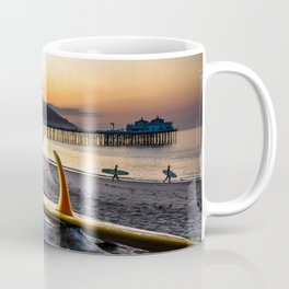Dawn patrol with a friend Coffee Mug
