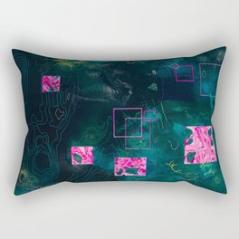 Journey of the Rebel, the Outcast, and the Ubermensch Rectangular Pillow