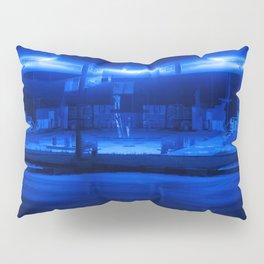 scifi gas station Pillow Sham
