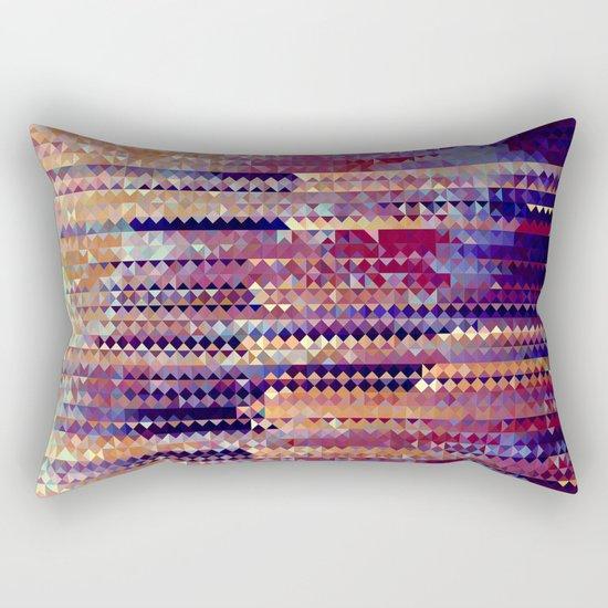 Triaglitch Rectangular Pillow