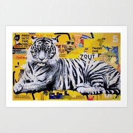 Tigerstyle Art Print