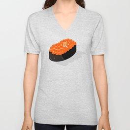 Space Odyssey Sushi | Astronaut Sushi | Space Sushi | Galaxy Sushi | Ikura Sushi | pulps of wood Unisex V-Neck