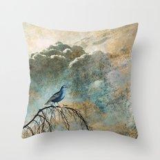 HEAVENLY BIRD II Throw Pillow