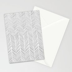Freeform Arrows in gray Stationery Cards