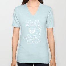 zero rolling fox Unisex V-Neck