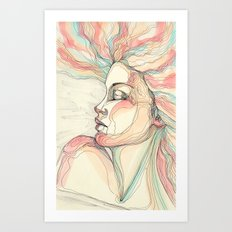 Pastel Dream Art Print