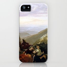 Jerome Thompson Belated Party Mansfield Mountain iPhone Case