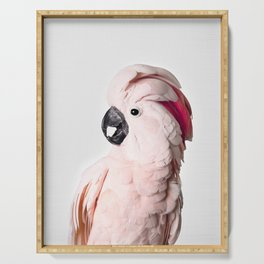 Pink Cockatoo Serving Tray