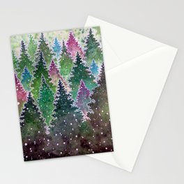 Northern Forest Stationery Cards